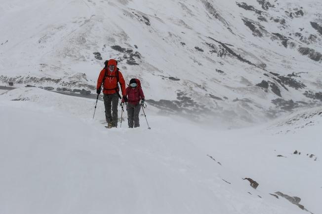loveland pass ski tour-1
